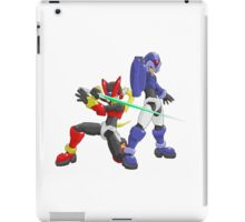 X and Zero - Maverick Hunters iPad Case/Skin