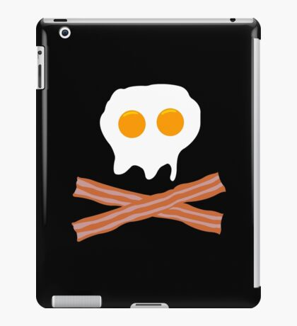 Eggs Bacon Funny Geek Nerd iPad Case/Skin