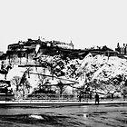 EDINBURGH CASTLE II by Chris Clark