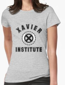 Xavier Institute X-Men Logo Womens Fitted T-Shirt