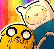 Finn&Jake by skyeejohnston