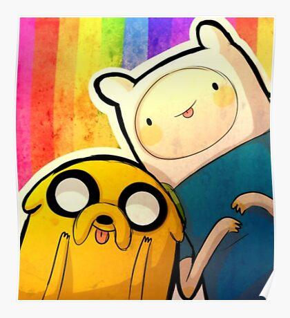 Finn&Jake Poster