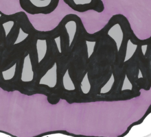original monster drawing copyright Sticker
