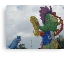 Cozumel Carnaval Canvas Print