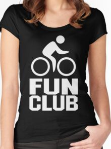 Fun Club Funny Geek Nerd Women's Fitted Scoop T-Shirt