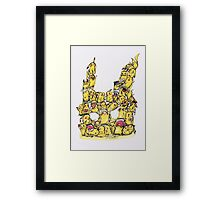 Choose a Pikachu! Framed Print
