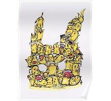 Choose a Pikachu! Poster