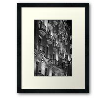 Barcelona Genius Framed Print