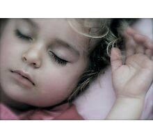 Sleeping Angel Photographic Print