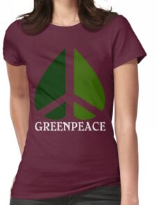 Greenpeace Funny Geek Nerd Womens Fitted T-Shirt