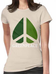 Greenpeace Funny Geek Nerd Womens Fitted T-Shirt