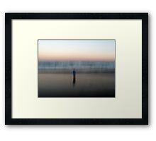 The Living Force Framed Print