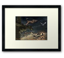 Cheetah Building Justin Beck Picture 2015082 Framed Print