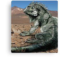 Desert Iguana Justin Beck Picture 2015096 Canvas Print