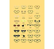Glasses Photographic Print