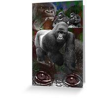 Endangered Gorillas Justin Beck Picture 2015094 Greeting Card