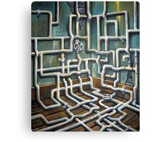 The Pipeline Canvas Print