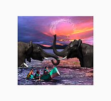 Fighting Elephants Justin Beck Picture 2015091 Unisex T-Shirt
