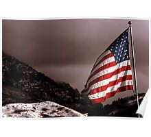 Billowing Freedom Poster