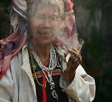 Thai Smoke - 2 by Thierry Barone