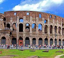 Flavius Amphitheatre by Tom Gomez