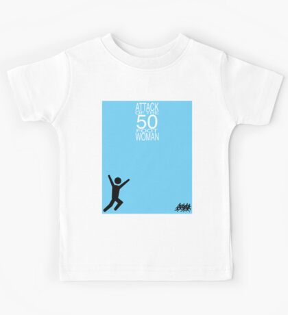 Attack of the 50 Foot Woman Kids Tee