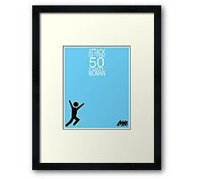 Attack of the 50 Foot Woman Framed Print