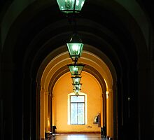 Lanterns at Seville University by Renee Hubbard Fine Art Photography
