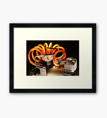 Take the pressure down Framed Print
