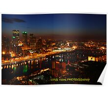 Pittsburgh's south side Poster