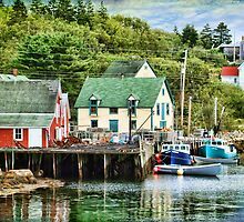Northwest Cove, Nova Scotia by Amanda White