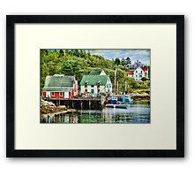 Northwest Cove, Nova Scotia Framed Print