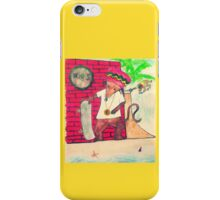Skateboarder Rasta Mouse iPhone Case/Skin