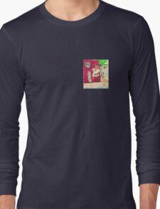 Skateboarder Rasta Mouse Long Sleeve T-Shirt