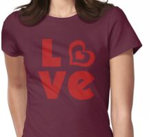 LO<3 Womens Fitted T-Shirt