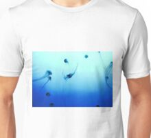 Jellyfish in the water Unisex T-Shirt