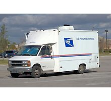 Mobile Post Office Photographic Print