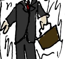 The Businessman Sticker
