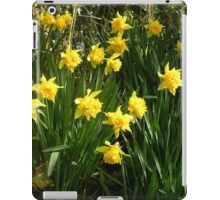 Double Daffodils iPad Case/Skin