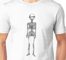 Robot Skeleton Unisex T-Shirt