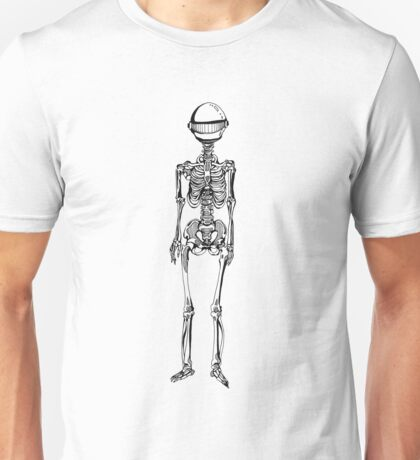 Robot Skeleton Unisex T-Shirt