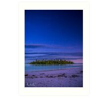 Heavens Above Pulu Maraya Art Print