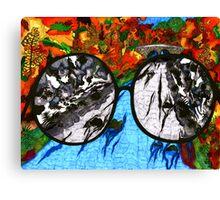 """""""Through Darkened Glass"""" Canvas Print"""