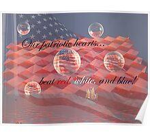 A Patriotic Heart Poster