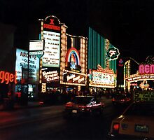 The Biggest Little City in the World..........................Reno, Nevada.. by Larry Llewellyn