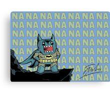 Domo Batman: The Dork Knight Canvas Print
