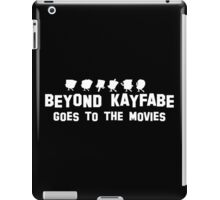 Beyond Kayfabe Goes To The Movies iPad Case/Skin