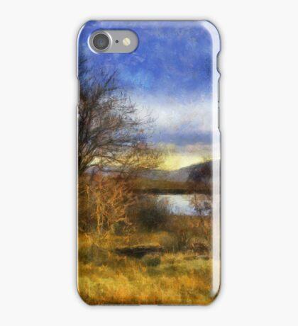 Fall Lake iPhone Case/Skin