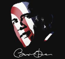 Obama Pop Art Signature Shirt by JayBakkerArt