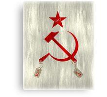 Communism vs. Capitalism Canvas Print